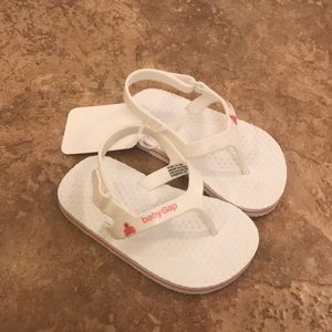 Baby Gap flip flops for size 12-18 month.